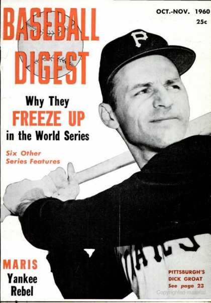 Baseball Digest - October 1960