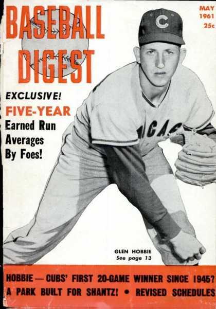 Baseball Digest - May 1961