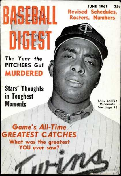 Baseball Digest - June 1961