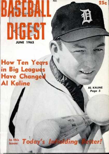 Baseball Digest - June 1963