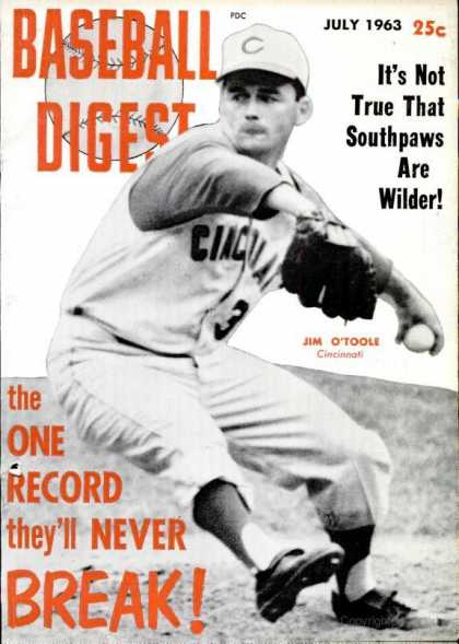 Baseball Digest - July 1963