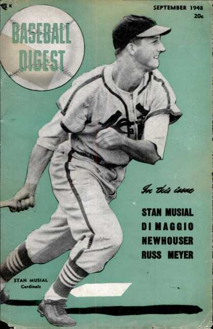 Baseball Digest - September 1948