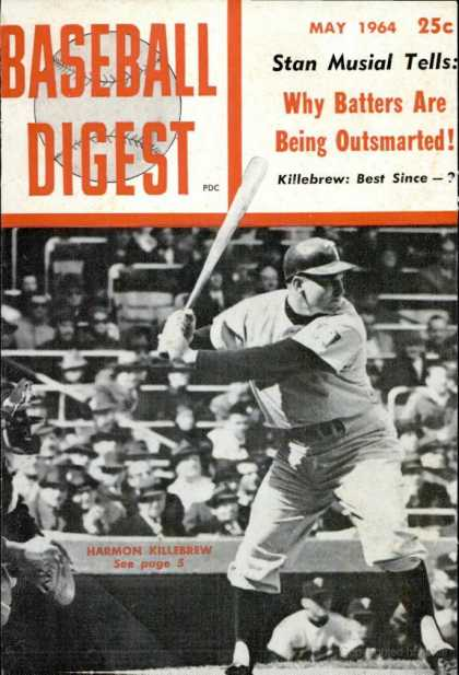 Baseball Digest - May 1964