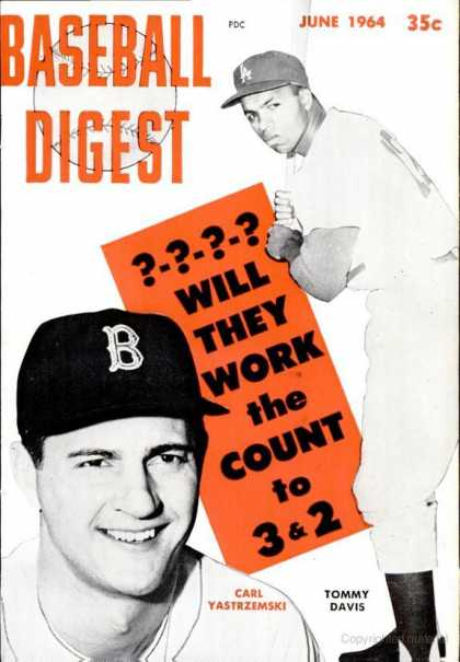 Baseball Digest - June 1964