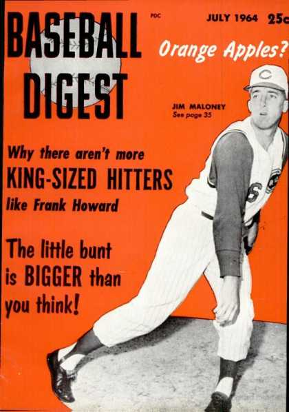 Baseball Digest - July 1964