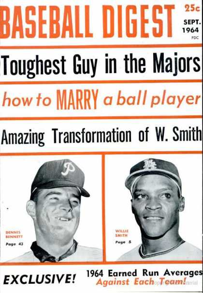 Baseball Digest - September 1964
