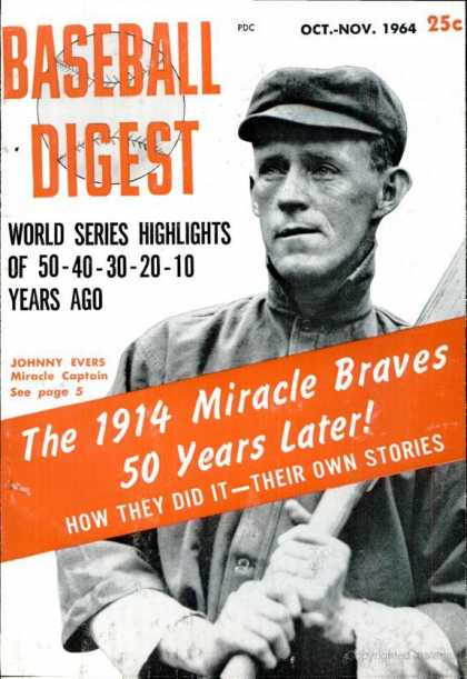 Baseball Digest - October 1964