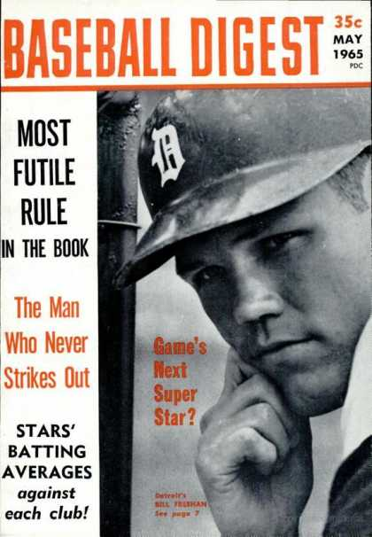 Baseball Digest - May 1965