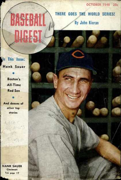 Baseball Digest - October 1948