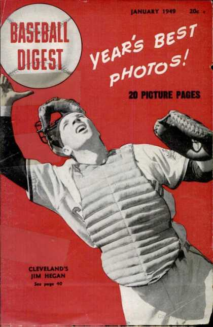 Baseball Digest - January 1949