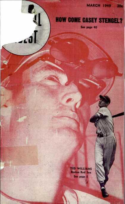 Baseball Digest - March 1949