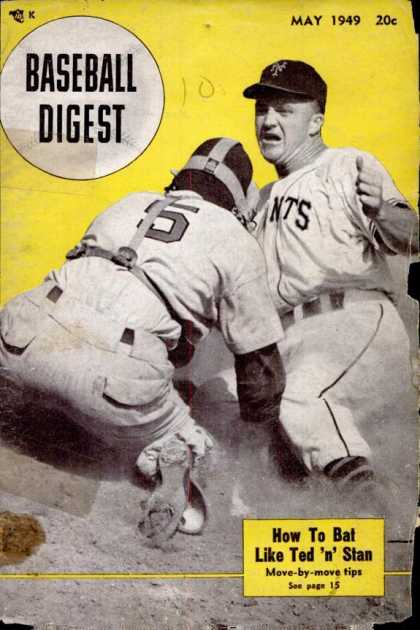 Baseball Digest - May 1949