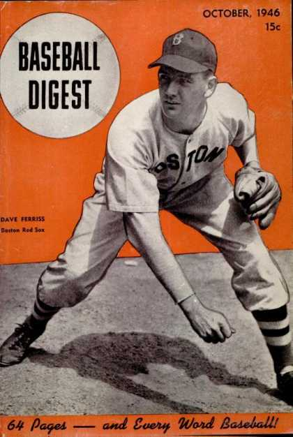Baseball Digest - October 1946