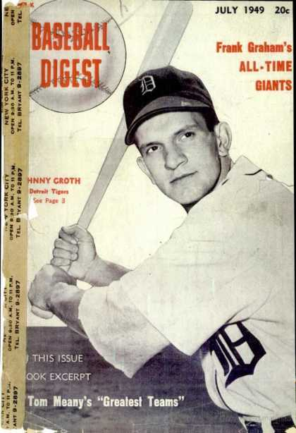 Baseball Digest - July 1949