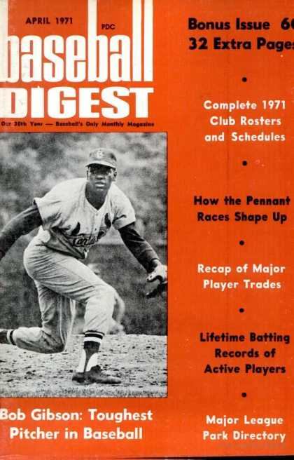 Baseball Digest - April 1971