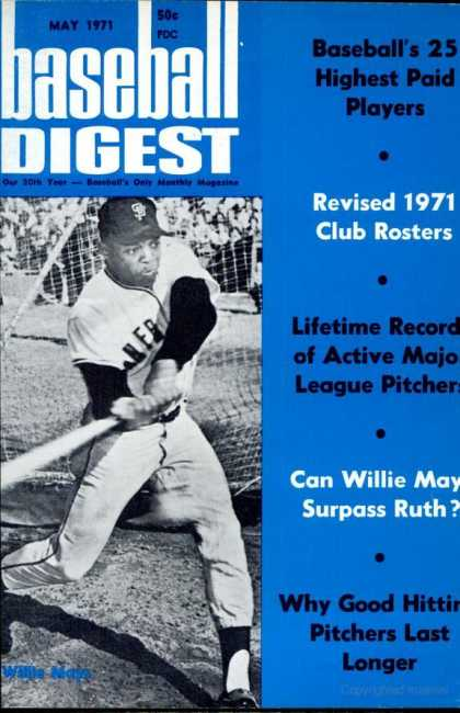 Baseball Digest - May 1971