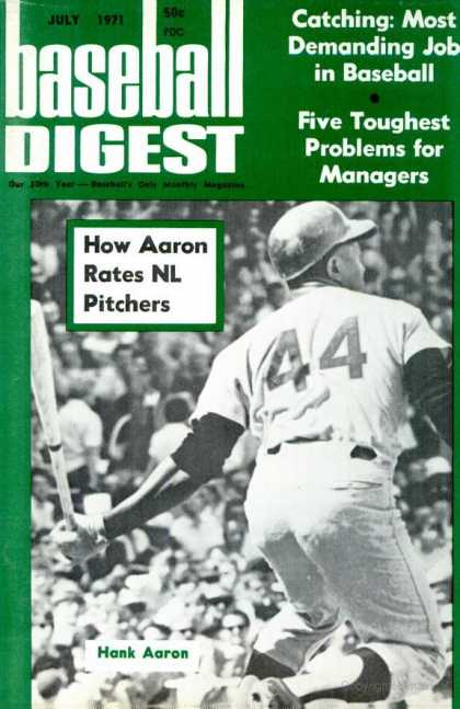 Baseball Digest - July 1971