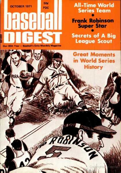 Baseball Digest - October 1971