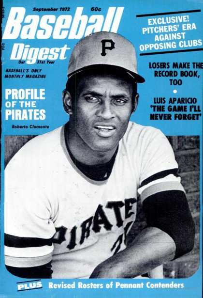 Baseball Digest - September 1972