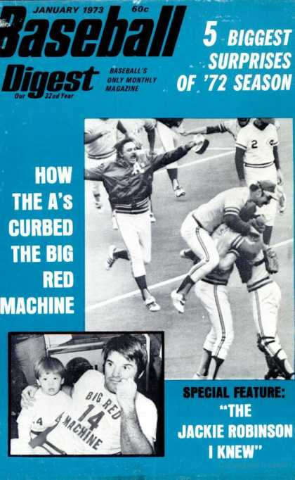 Baseball Digest - January 1973