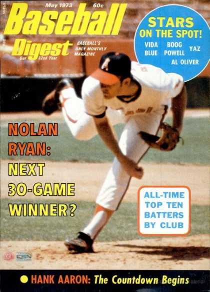 Baseball Digest - May 1973
