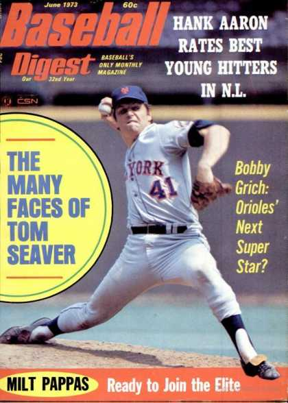 Baseball Digest - June 1973