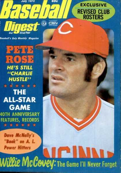 Baseball Digest - July 1973