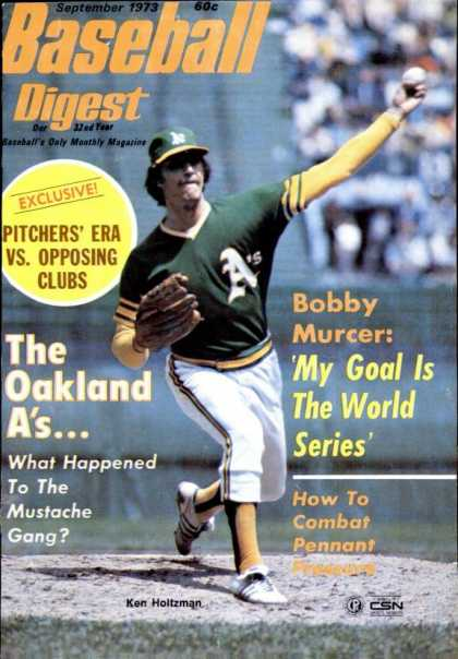 Baseball Digest - September 1973