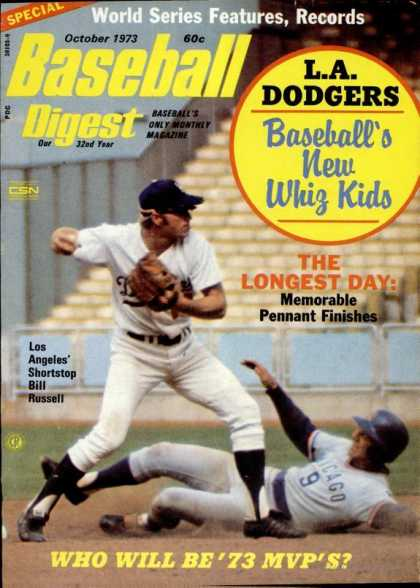 Baseball Digest - October 1973