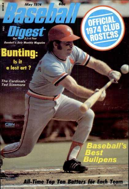 Baseball Digest - May 1974