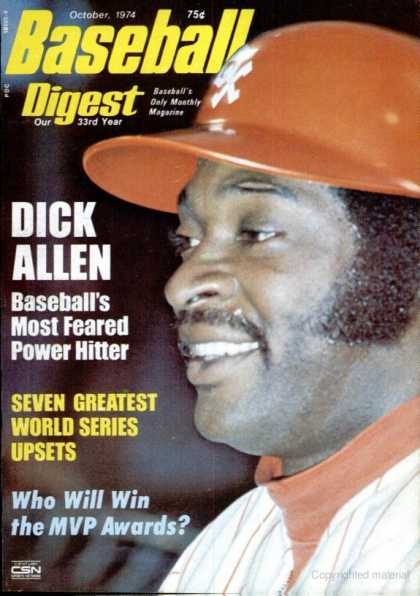 Baseball Digest - October 1974
