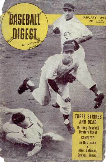 Baseball Digest - January 1950