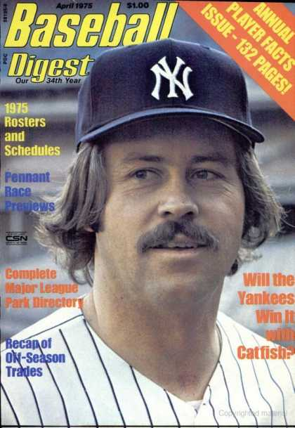 Baseball Digest - April 1975