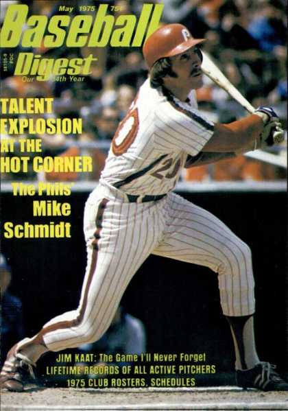 Baseball Digest - May 1975