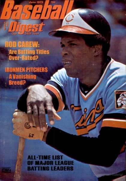 Baseball Digest - June 1975