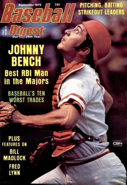 Baseball Digest - September 1975