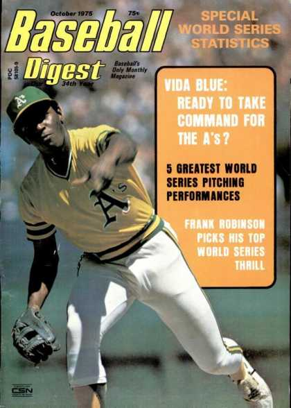 Baseball Digest - October 1975