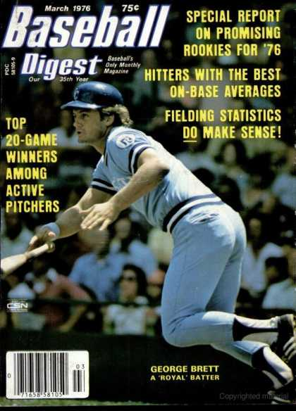 Baseball Digest - March 1976