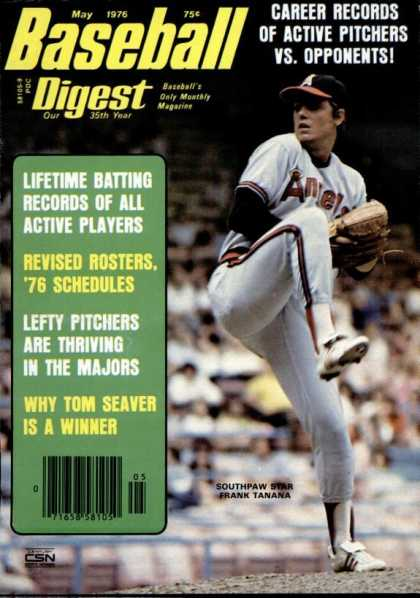 Baseball Digest - May 1976