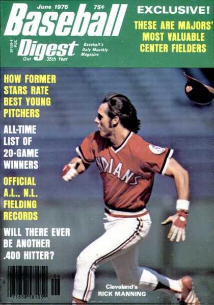 Baseball Digest - June 1976