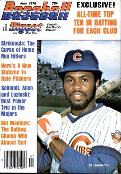 Baseball Digest - July 1976