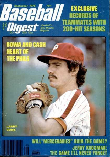 Baseball Digest - September 1976