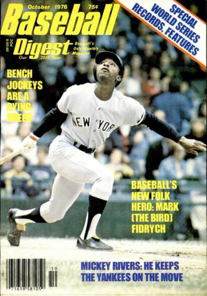 Baseball Digest - October 1976
