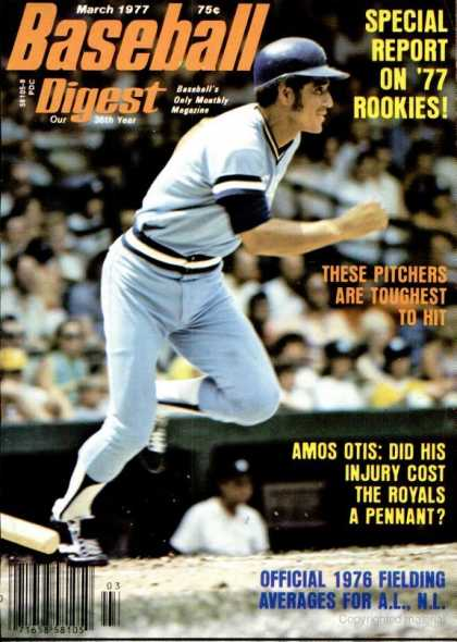 Baseball Digest - March 1977