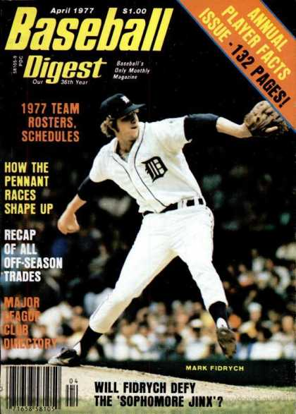 Baseball Digest - April 1977