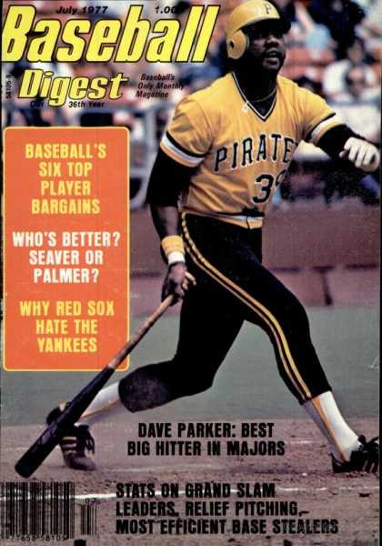 Baseball Digest - July 1977