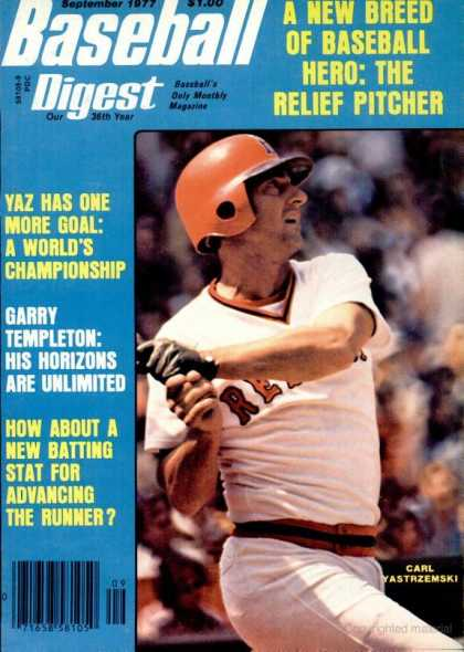 Baseball Digest - September 1977