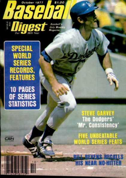 Baseball Digest - October 1977