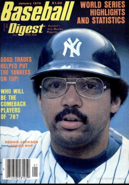 Baseball Digest - January 1978