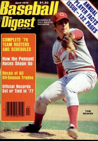 Baseball Digest - April 1978